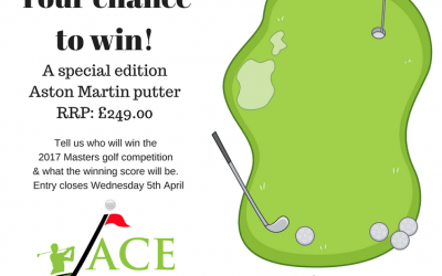 Win a special edition Aston Martin Putter worth £249.00