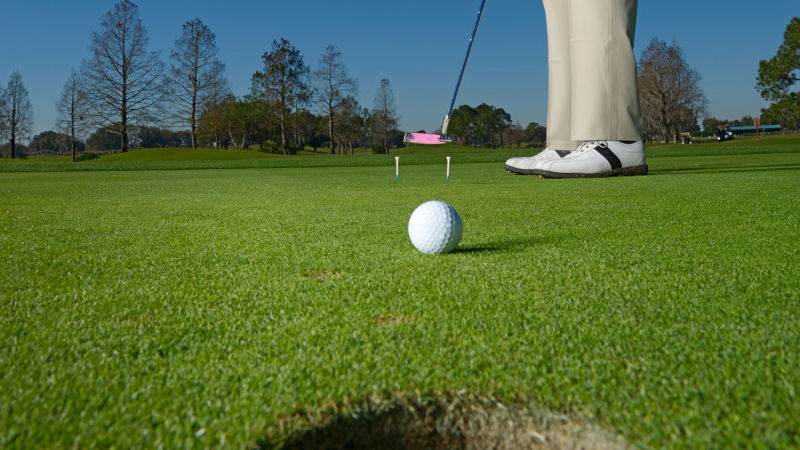 Turn yourself into a putting pro